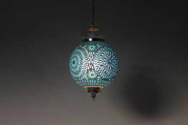 Mosaik Lampe Azraq