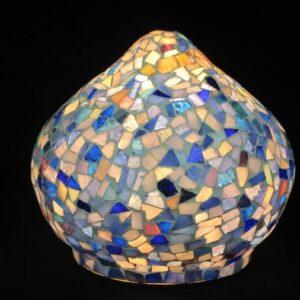 Mosaik Lampe Zwiebel
