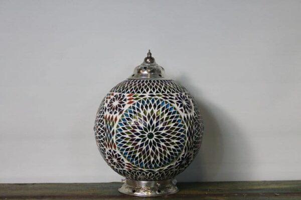 Mosaik Tisch Lampe Misbah L v2
