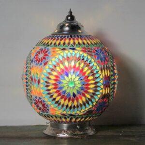 Mosaik Tisch Lampe Misbah L