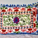 Oriental Kissen Damali Weiß 50 x 35