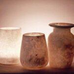 Alabaster Kerzenhalter