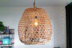 Oriental Hen Korb lampe Diq L Produkt