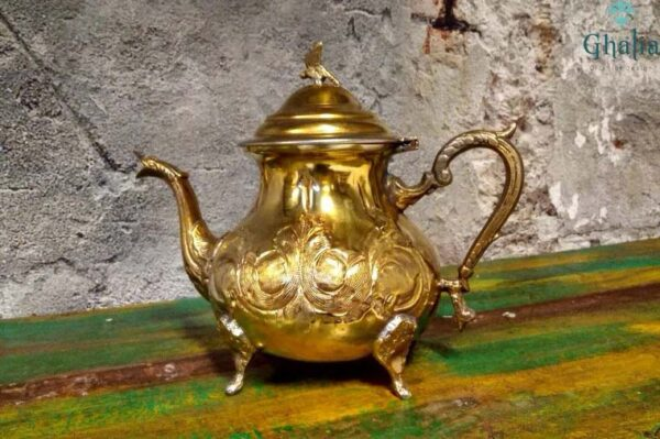 kaufen Marokkanische Messing Teekannen